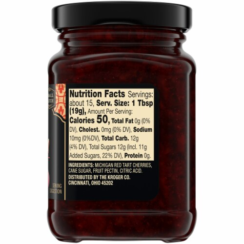 Private Selection® Red Tart Michigan Cherry Preserves Perspective: right