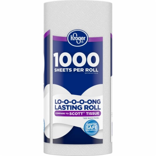 Kroger®  Long Lasting Bath Tissue Perspective: right