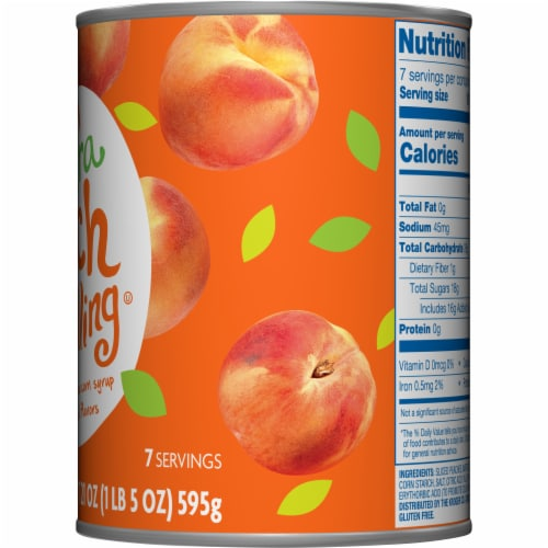 Kroger® Extra Peach Pie Filling Perspective: right