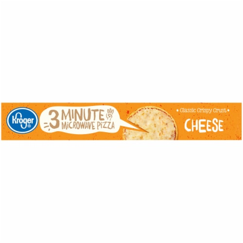 Kroger 3 Minute Microwave Cheese Pizza Perspective: right