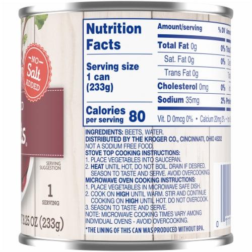 Kroger® No Salt Added Sliced Beets Perspective: right