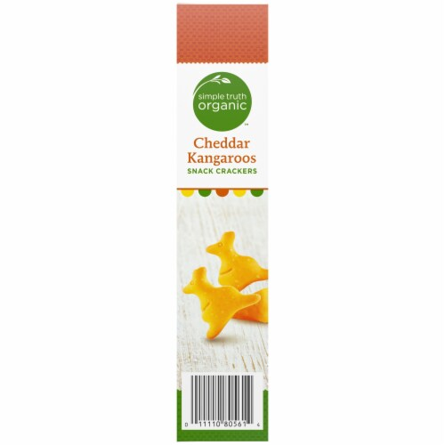 Simple Truth Organic™ Cheddar Kangaroos Snack Crackers Perspective: right