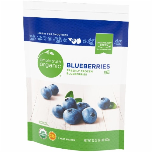 Simple Truth Organic™ Frozen Blueberries Perspective: right