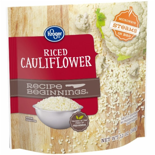 Kroger® Recipe Beginnings Frozen Riced Cauliflower Perspective: right