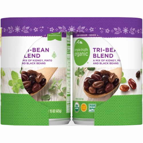 Simple Truth Organic® Tri-Bean Blend Perspective: right
