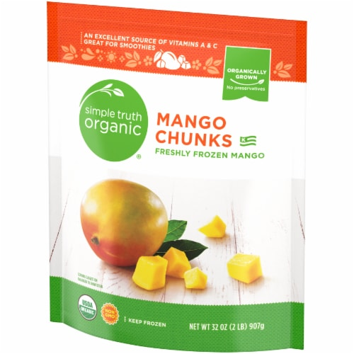 Simple Truth Organic™ Frozen Mango Chunks Perspective: right