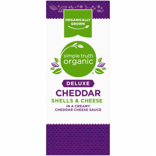 Simple Truth Organic® Deluxe Cheddar Shells & Cheese Perspective: right