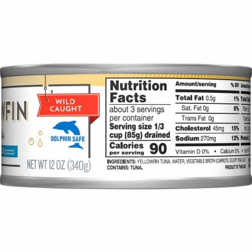 Kroger® Ralphs Chunk Light Yellowfin Tuna Perspective: right