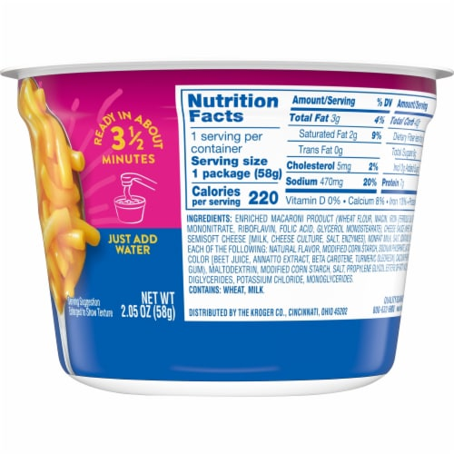 Kroger® Original Macaroni & Cheese Perspective: right