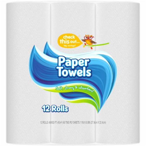 Check This Out® Paper Towels Perspective: right