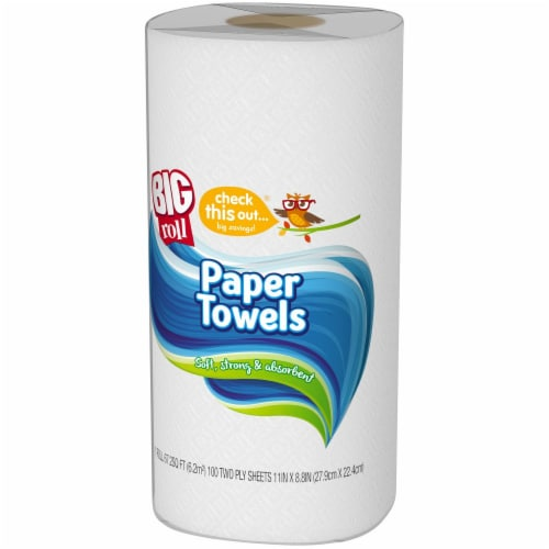 check this out...® Big Roll Paper Towel Perspective: right