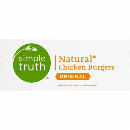 Simple Truth™ Original Natural Chicken Burgers Perspective: right