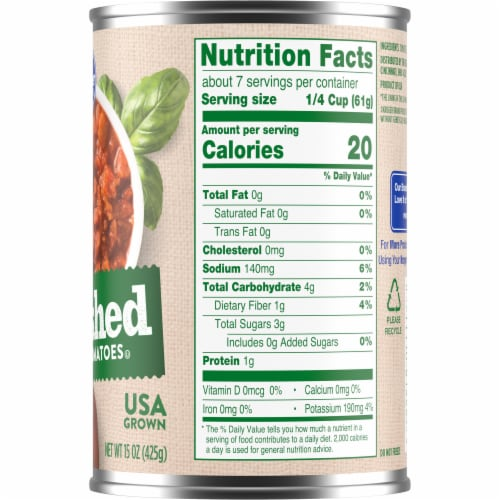 Kroger® Crushed Peeled Tomatoes in Tomato Puree Perspective: right