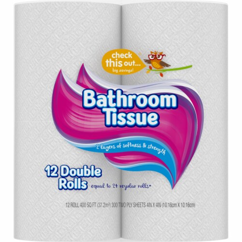 Check This Out® Double Roll Bath Tissue Perspective: right