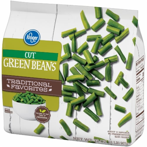 Kroger® Traditional Favorites Cut Green Beans Perspective: right