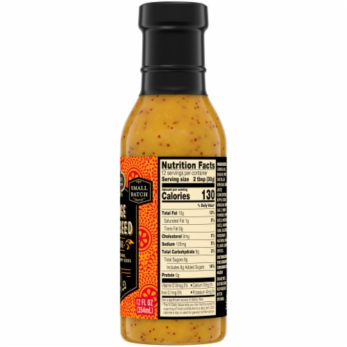 Private Selection® Orange Poppy Seed Dressing Perspective: right
