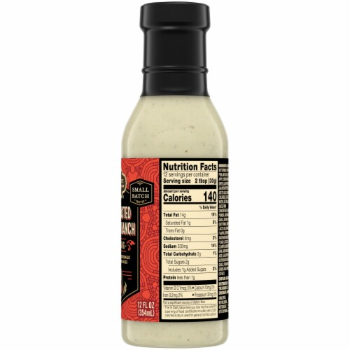Private Selection® Fire Roasted Poblano Ranch Dressing Perspective: right