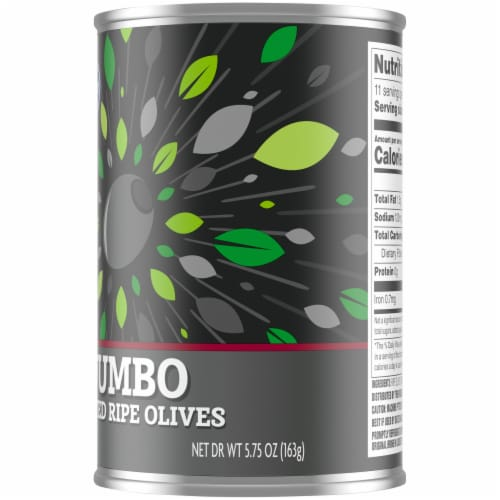 Kroger® Jumbo Pitted Ripe Olives Perspective: right
