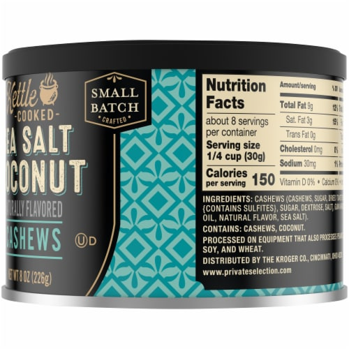 Private Selection™ Kettle Cooked Sea Salt Coconut Cashews Perspective: right