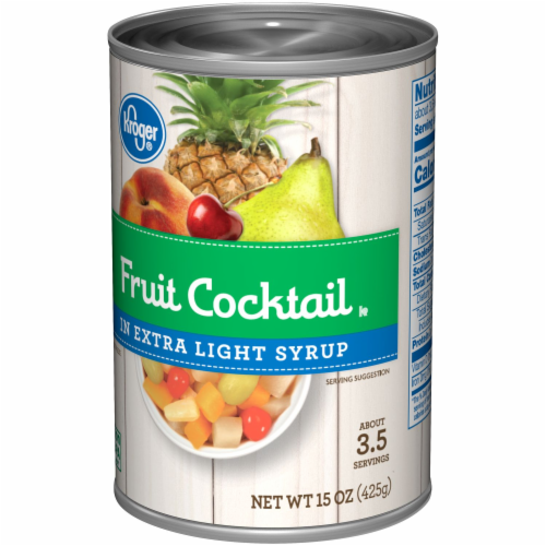 Kroger® Fruit Cocktail in Extra Light Syrup Perspective: right