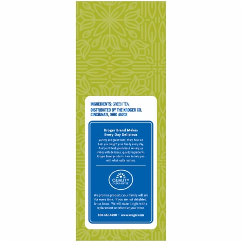 Kroger® Green Tea Bags Perspective: right