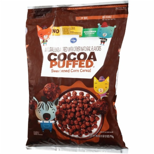 Kroger® Cocoa Puffed Cereal Perspective: right