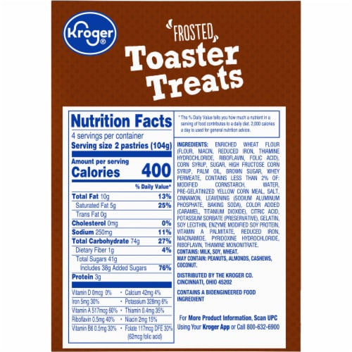 Kroger® Frosted Brown Sugar Cinnamon Toaster Treats Perspective: right