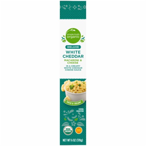 Simple Truth Organic® Thick & Creamy Deluxe White Cheddar Macaroni & Cheese Perspective: right