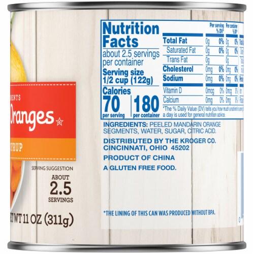 Kroger® Mandarin Oranges in Light Syrup Perspective: right
