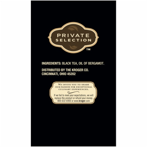 Private Selection™ Earl Grey Black Tea Perspective: right