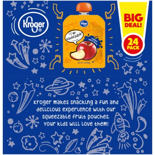 Kroger® Classic Apple Sauce Pouches 24 Count Perspective: right
