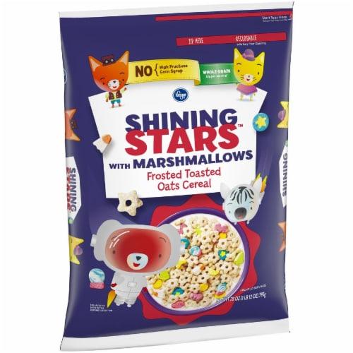 Kroger® Shining Stars with Marshmallows Frosted Toasted Oats Cereal Perspective: right