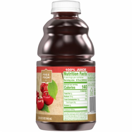 Simple Truth™ 100% Tart Cherry Juice Perspective: right