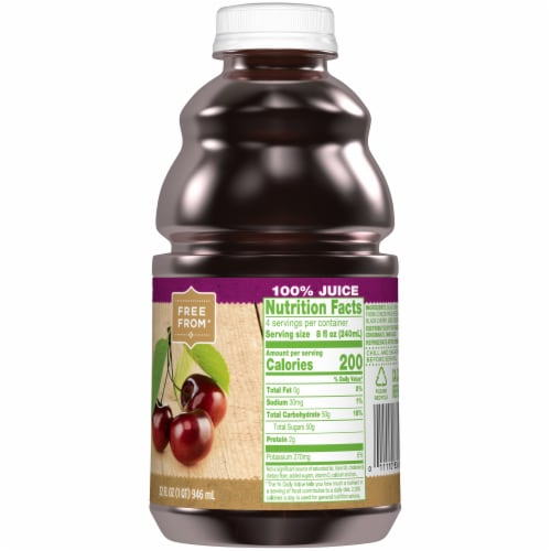Simple Truth™ 100% Black Cherry Juice Perspective: right