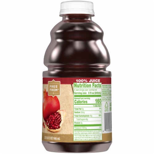 Simple Truth™ 100% Pomegranate Juice Perspective: right