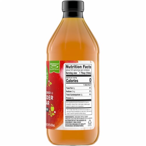 Simple Truth Organic™ Raw Unfiltered Apple Cider Vinegar with Mother Perspective: right