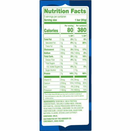 Simple Truth™ Low Cow Fudge Low Fat Ice Cream Bars Perspective: right