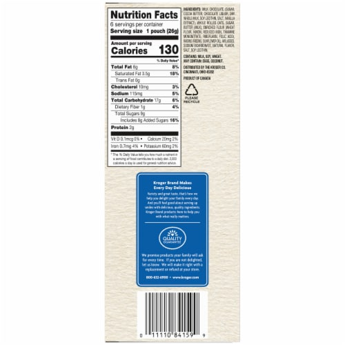 Kroger® Mini Oatmeal Cookies with Real Milk Chocolate Perspective: right