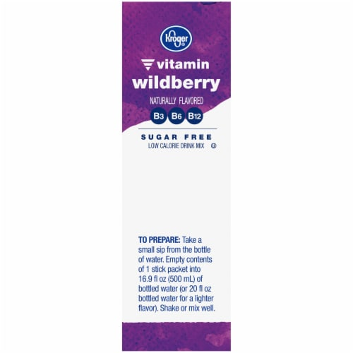Kroger® Vitamin Wildberry Drink Mix Perspective: right