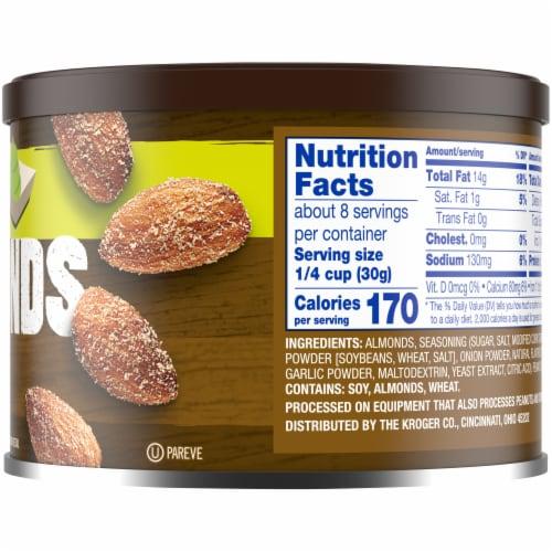 Kroger® Wasabi Seasoned Almonds Perspective: right