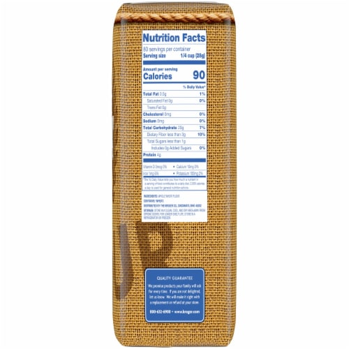 Kroger® Traditional Whole Wheat Flour Perspective: right