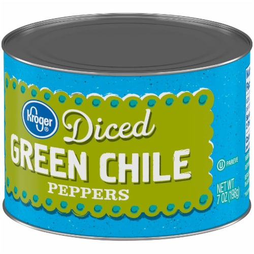 Kroger® Diced Green Chile Peppers Perspective: right