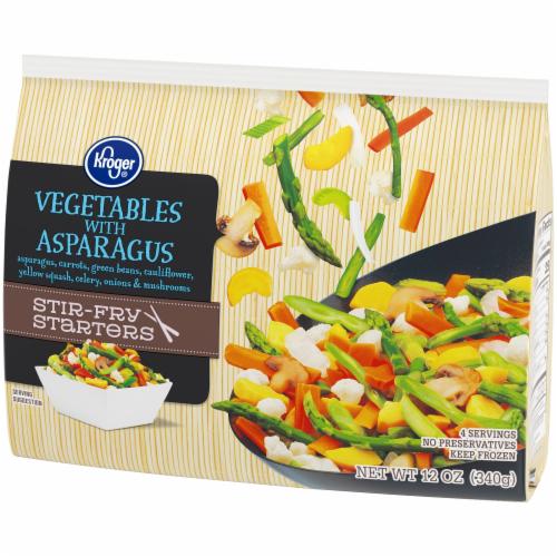 Kroger® Stir-Fry Starters Vegetables with Asparagus Perspective: right