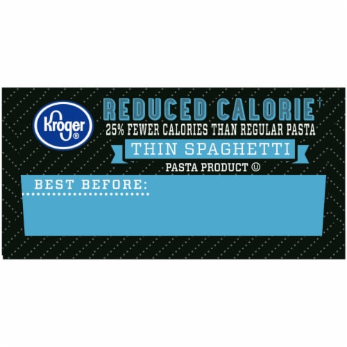 Kroger® Reduced Calorie Thin Spaghetti Perspective: right