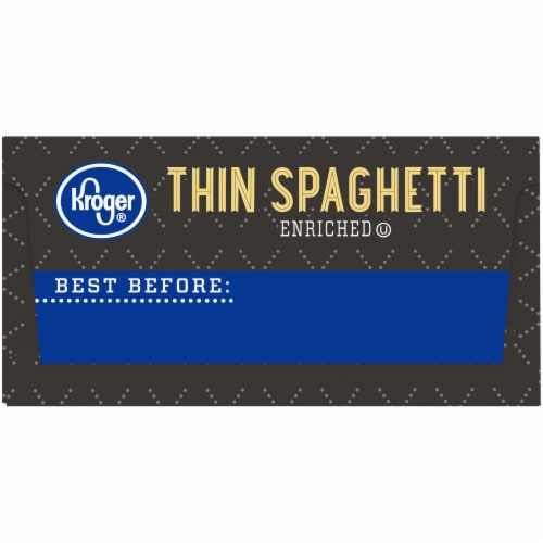 Kroger® Thin Spaghetti Perspective: right