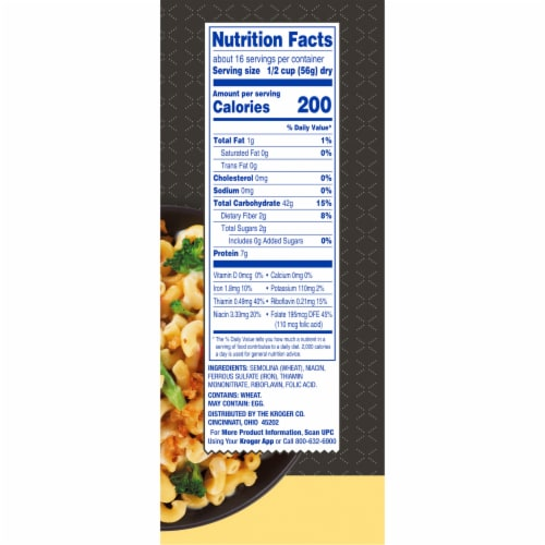Kroger® Elbow Macaroni Pasta Perspective: right