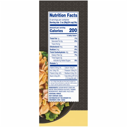Kroger® Salad Shells Pasta Perspective: right
