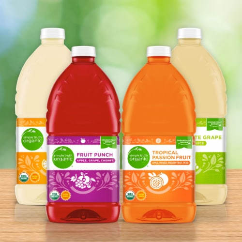 Simple Truth Organic™ White Grape 100% Juice Perspective: right