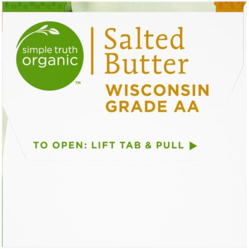 Simple Truth Organic™ Salted Butter Perspective: right