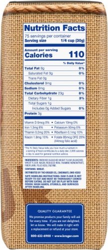 Kroger® Bleached All Purpose Enriched Flour Perspective: right